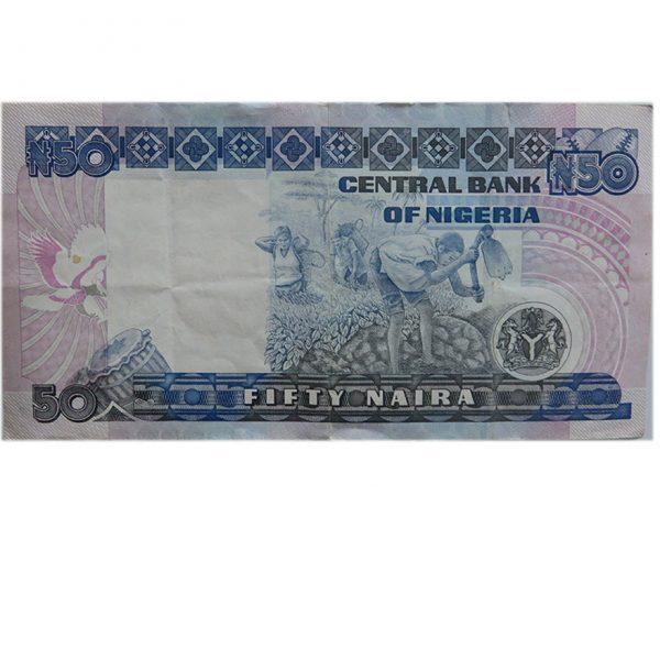 50 Naira Nigeria Numisworld