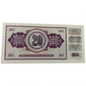 PMG Certified Yugoslavia 100 Dinara 1994 World Paper Money UNC Currency